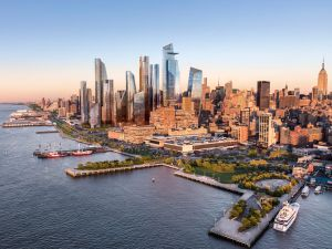 Hudson Yards: a collaboration of public and private monies.