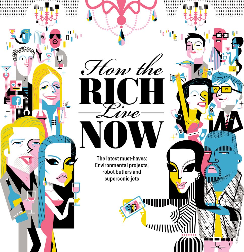 How the Rich Live Now: Supersonic Jets and Submersible Yachts