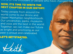 A Keith Wright mailer misfires.