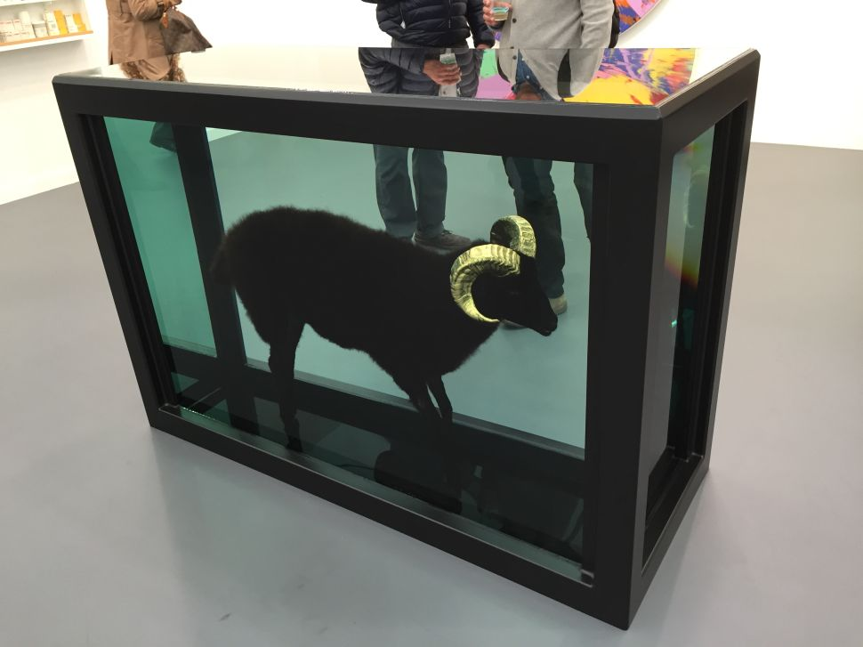 Frieze Was Fun, But Is Damien Hirst's Pickled Sheep Killing You?