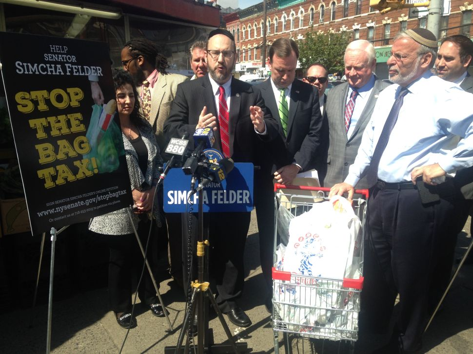 State Pols Vow to Block de Blasio-Backed 'Limousine Liberal' Bag Fees