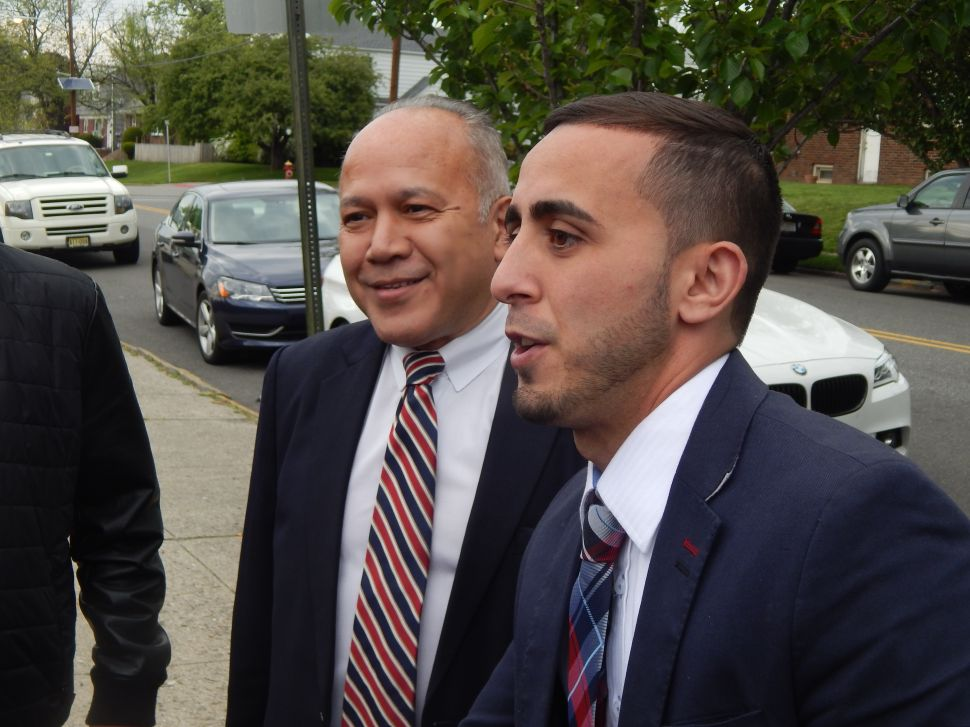 VIDEO: Torres in the Streets on Election Day in Paterson
