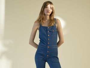 Some awesome denim overalls