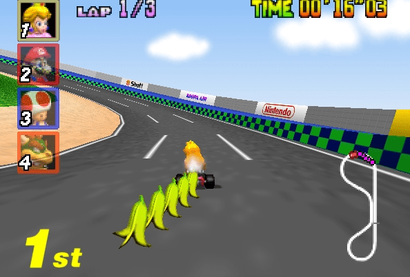 A Quick Word From: A Koopa Who Has to Peel Every Banana Before Each 'Mario Kart' Race