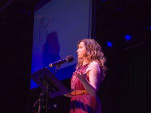 Amanda Stern at Happy Endings Show