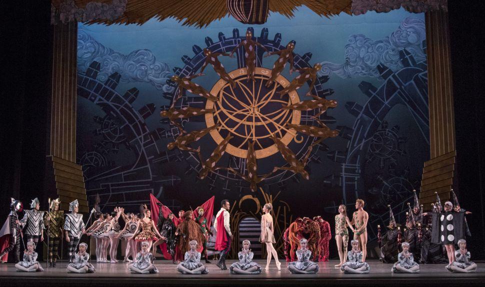 Wheeldon's New Take on Gershwin Premieres at New York City Ballet Spring Gala