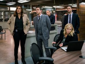 Olivia Benson and the SVU team