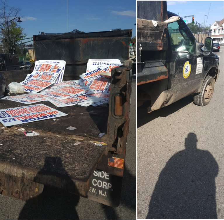 Orange Mayoral Challenger Morrell Claims Warren Had DPW Take Down Signs