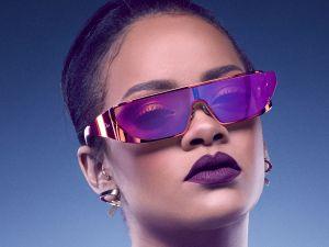 Rihanna in her futuristic shades