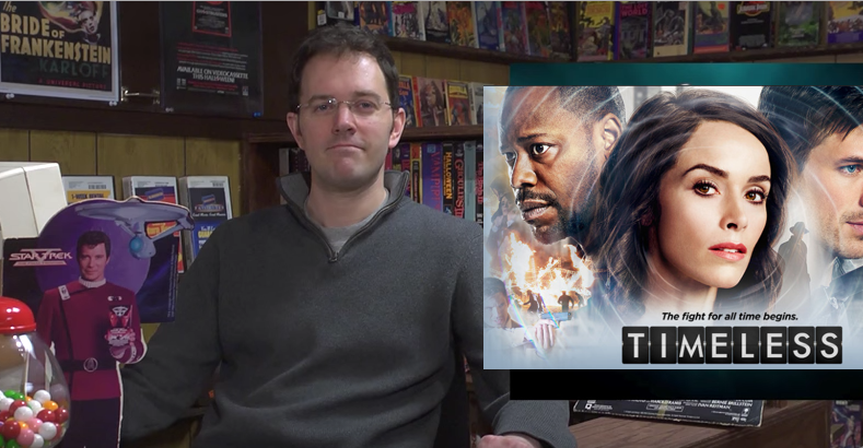 NBC's 'Timeless.' No Review. I Refuse.