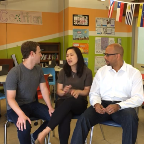 Mark Zuckerberg Says Priscilla Can't Sing to Their Daughter Because Her Pitch Is Too Bad