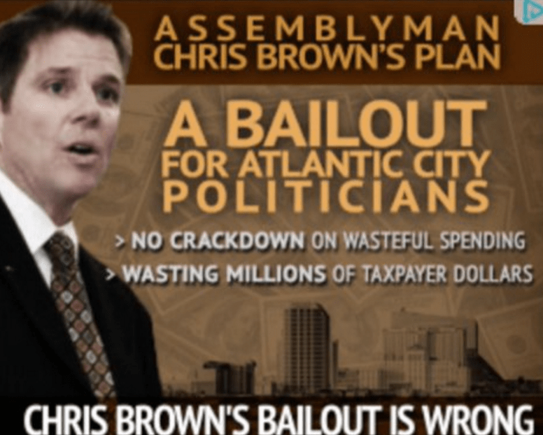 Brown Faces New Super PAC Attack Ads in Atlantic City