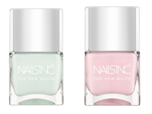 The New White Collection from Nails Inc