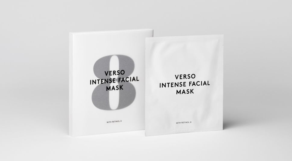 Verso's Intense Sheet Mask Is Bound to Become a Cult Favorite