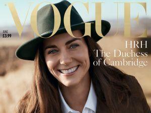 Kate Middleton covers British Vogue