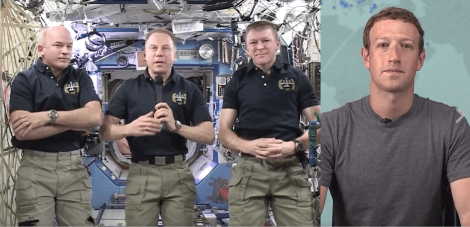 What We Learned From Mark Zuckerberg's Chat With The International Space Station
