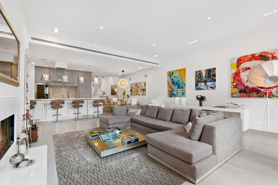 This Chic Soho Triplex Has as Many Terraces as Floors