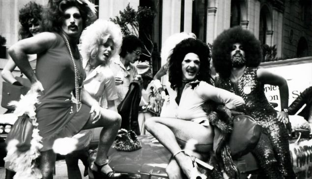 San Francisco Gay Parade, 1974.