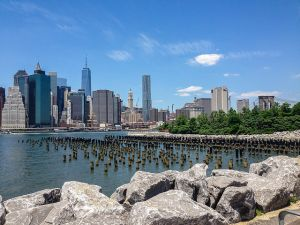 Brooklyn Bridge Park, where the park corporation just approved two new condo towers.