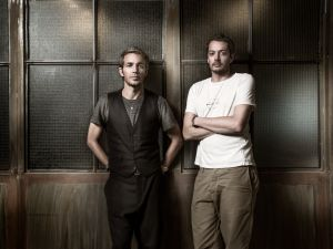 David Neville and Marcus Wainwright of rag & bone