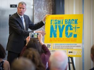 Mayor Bill de Blasio discusses Zika virus prevention efforts in New York City.