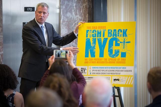 NYC Opening Clinics and Spraying Pesticides to Combat Zika Virus