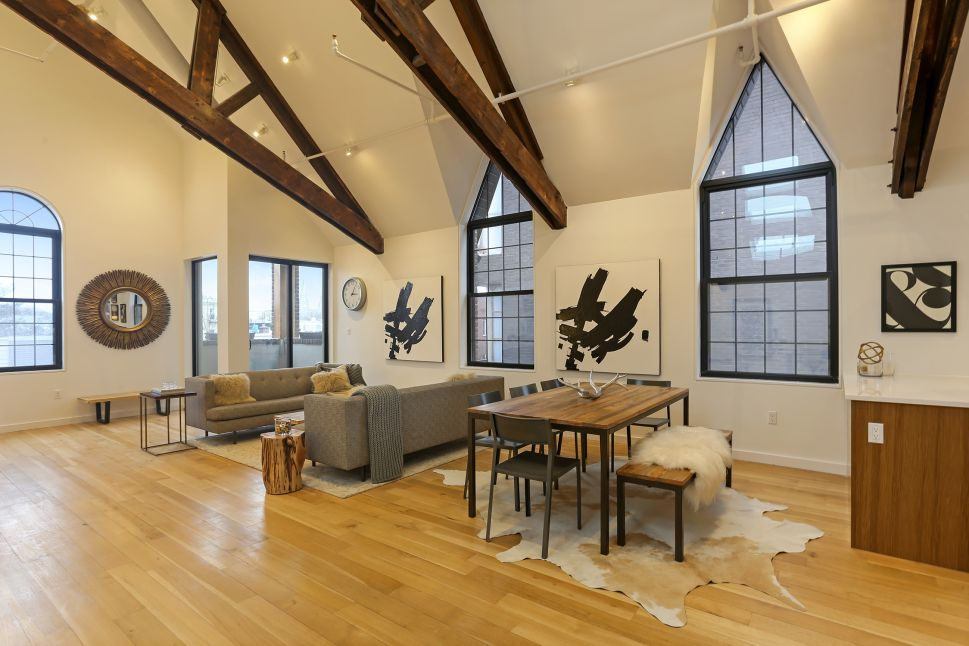 Sacred Space: A Church-Conversion Condo With a Park View—McCarren Park, That Is