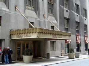 The Waldorf Astoria.