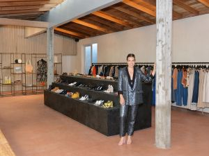 LOS ANGELES, CA - JUNE 15: Designer Rachel Comey at the Los Angeles store opening for her eponymous label.