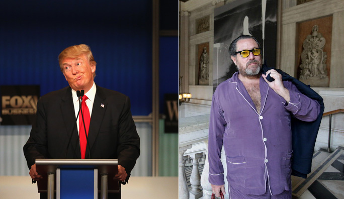 In 1988 Donald Trump and Julian Schnabel Were Basically the Same Person