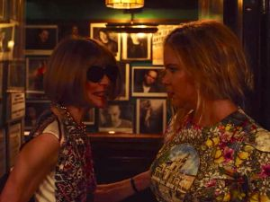 Amy Schumer accosted by Anna Wintour.