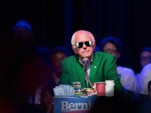 CHICAGO, IL - AUGUST 17: Democratic presidential candidate U.S. Sen. Bernie Sanders (I-VT).