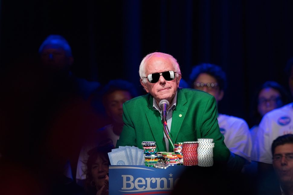 Why Bernie Sanders Didn't Fold: A Poker Player's Perspective