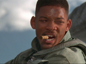 What if Will Smith had to deal with bacon instead of aliens?