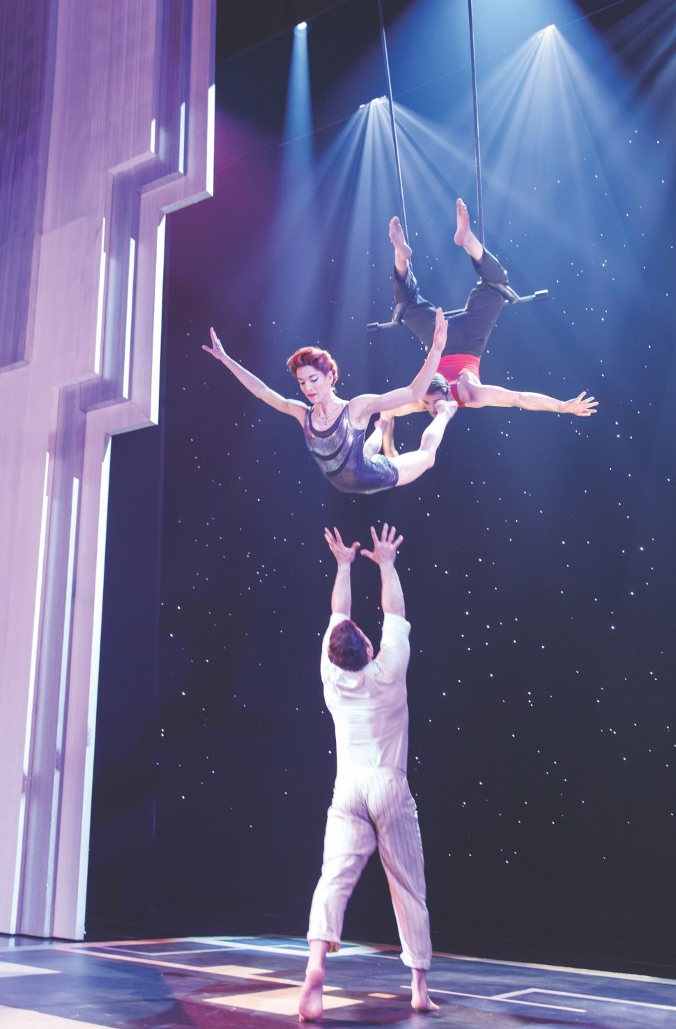 Cirque du Soleil Brings Its Acrobatic Extravaganza to Broadway
