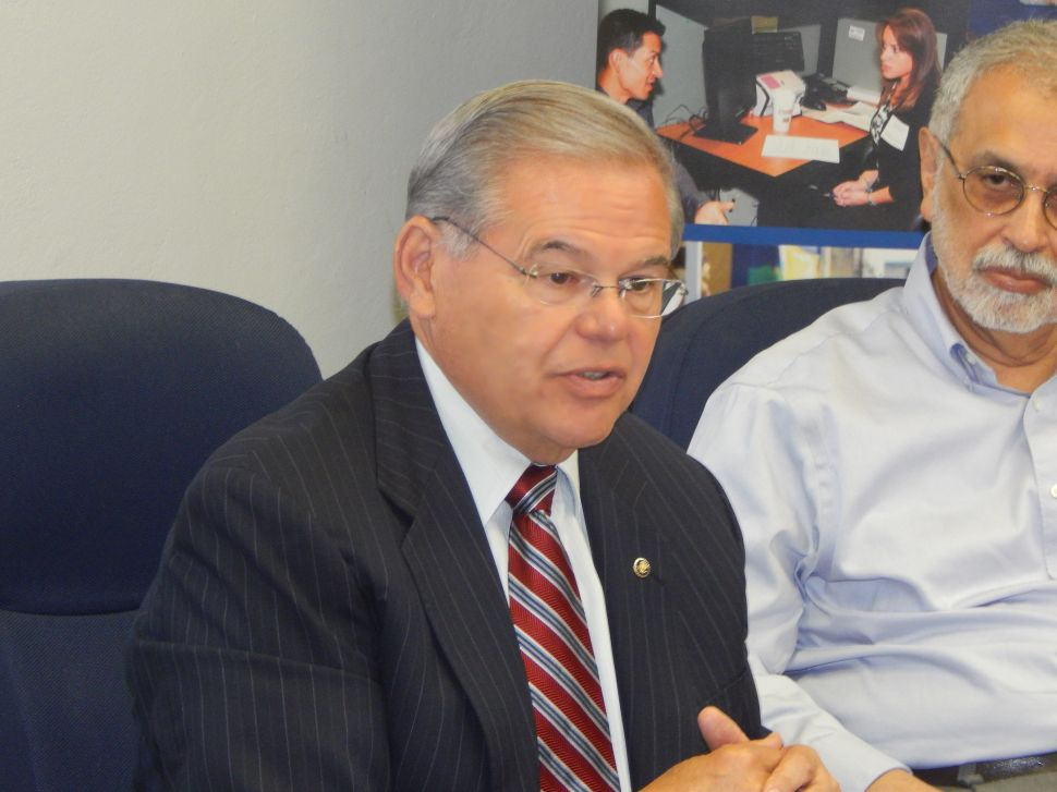 Menendez 'Appalled' by Trump's Reaction to Orlando Killings