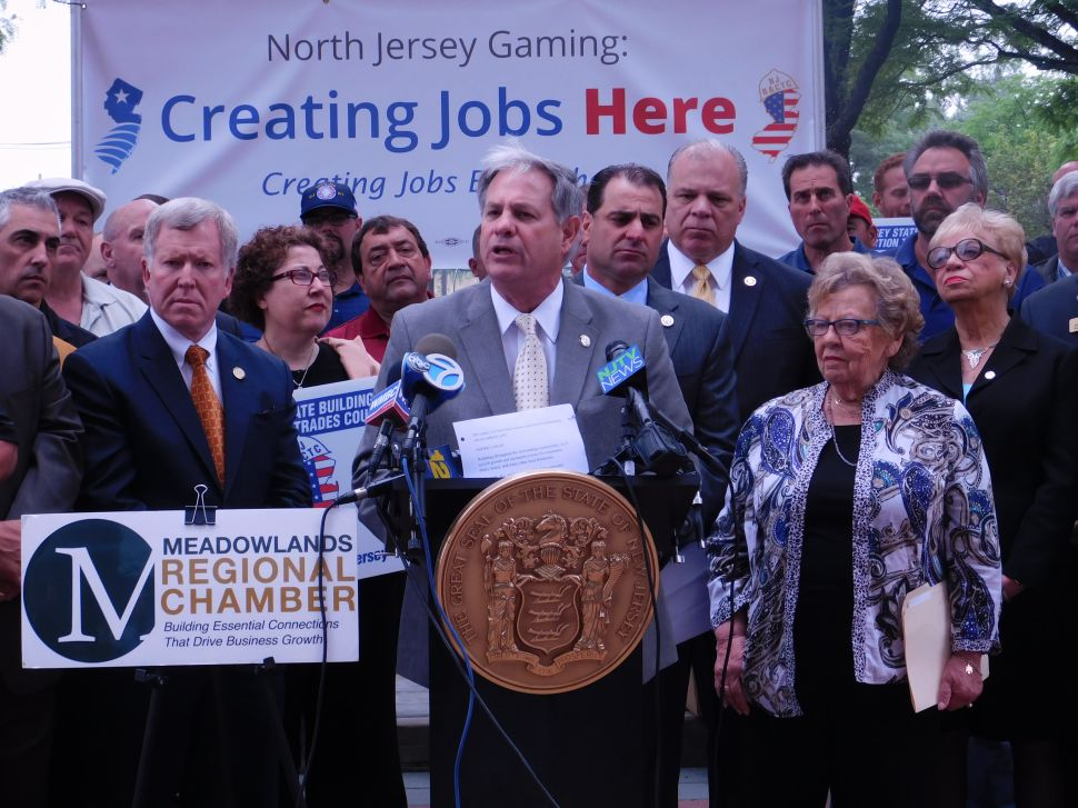 Sweeney, Lawmakers Push Casinos and Jersey Unity in the Meadowlands