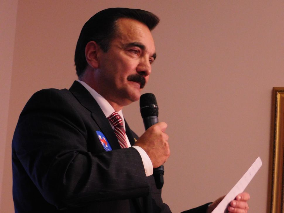 NJ Speaker Prieto Denounces Trump Border Wall Proposal as 'Un-American'