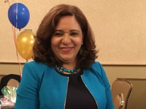 Cristina Peralta is running for reelection.