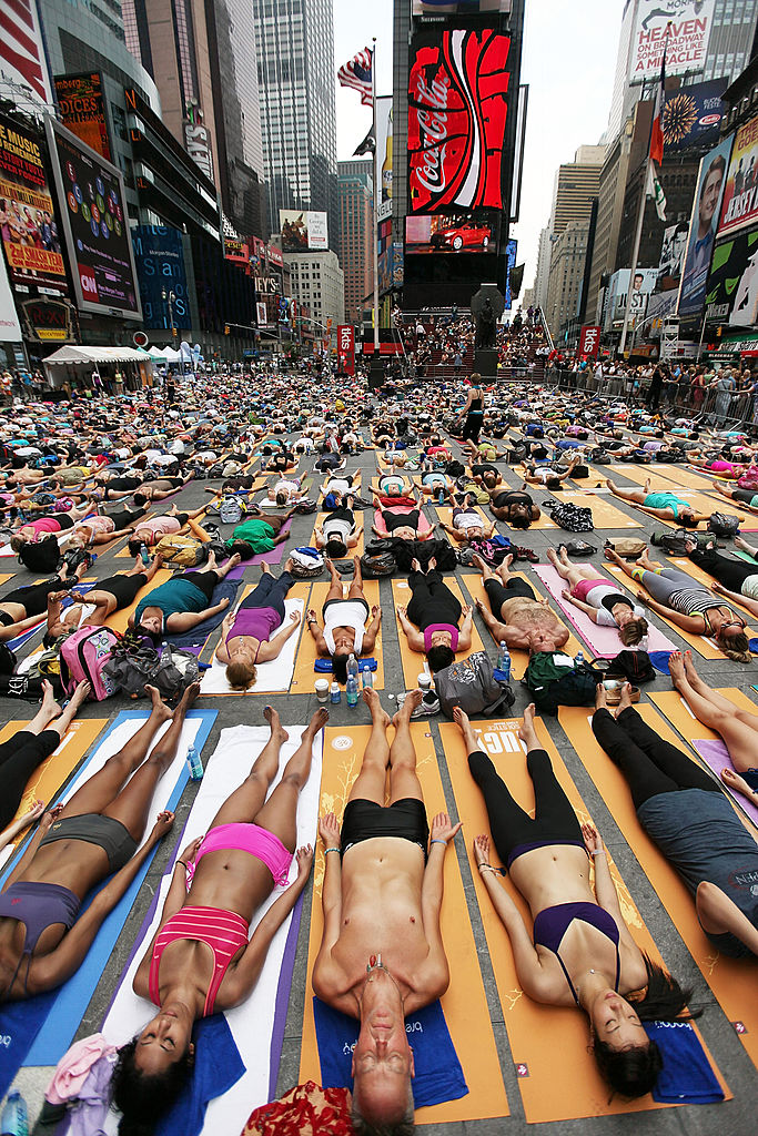 Celebrate International Day of Yoga by Venturing Outside Your Usual Studio