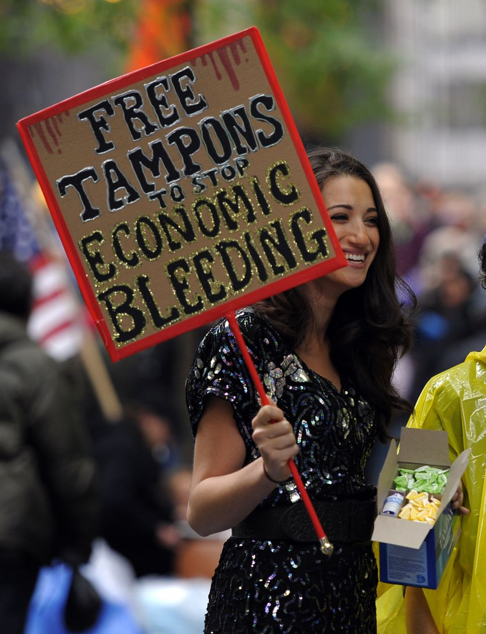 Afternoon Bulletin: NYC Introduces Free Tampons in Schools, Prisons and Shelters