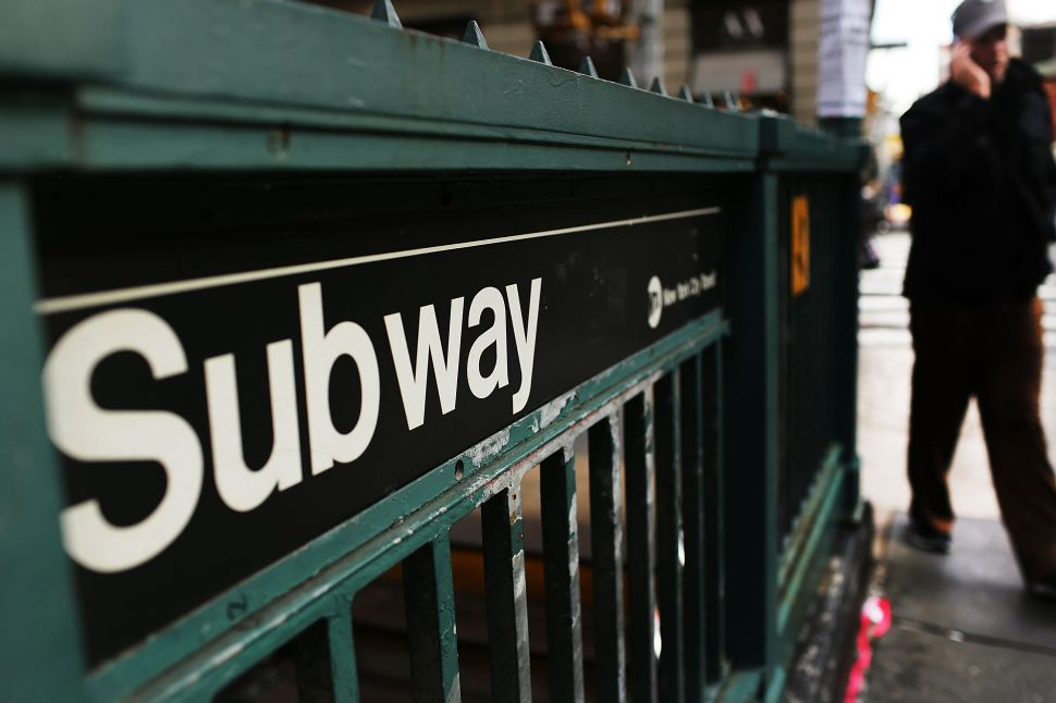 Afternoon Bulletin: Subway Riders Stand Up to Groping, Weed Chomping Goats and More