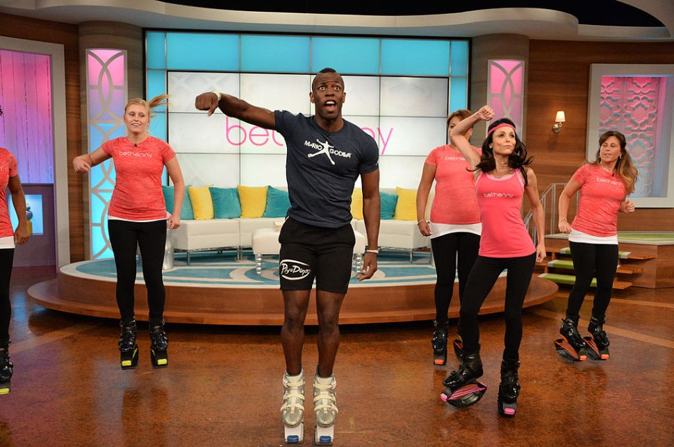 Would You Jump Around Central Park Like a Kangaroo for Fitness?