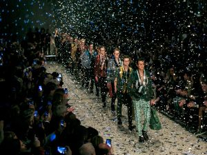 Burberry, who showed its collection at LCM for the past three years, was notably absent from the fashion event this year.