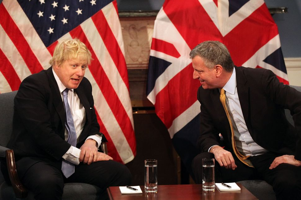 NYC Mayor: Brexit Is About 'Elites That Have Failed Working People'