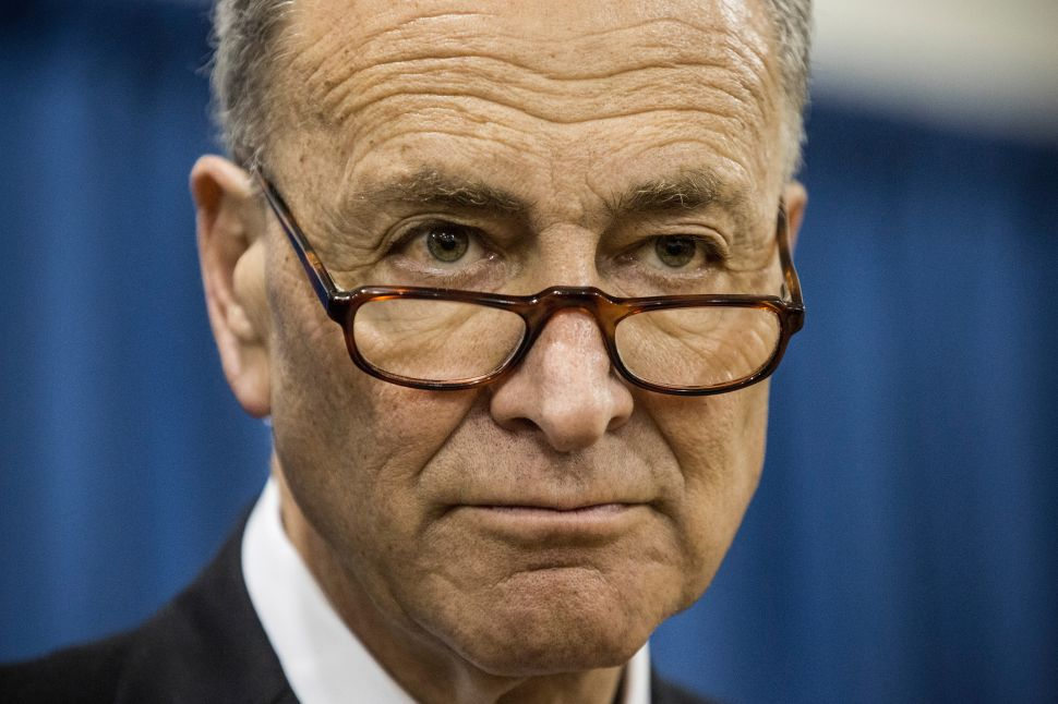 Charles Schumer Misses Shot as Majority Leader As Democrats Come Up Short in Senate