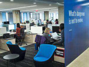 The Washington Post's newsroom.