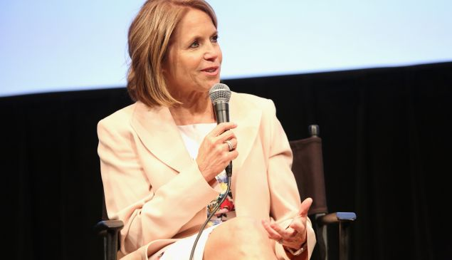 Katie Couric attends Under the Gun NY Premiere Event