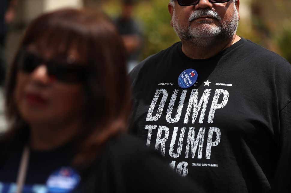 Latinos Are Registering in Droves to Dump Donald Trump
