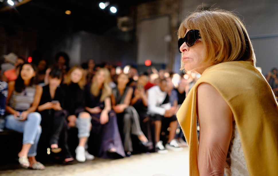 Anna Wintour Has 'Pressure to Produce'